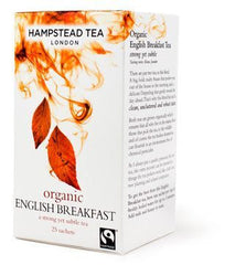 Hampstead Tea English Breakfast Tea 25 sachets 50g