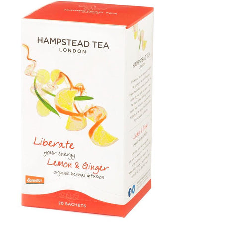 Hampstead Lemon Ginger Tea bags 20