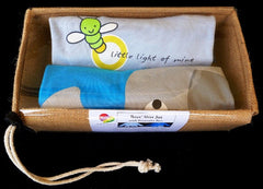 Boys Elephant and Little Light of Mine Bamboo/Organic Cotton Long-sleeve shirt gift packs (9mth to 4yr) - sweatshop-free