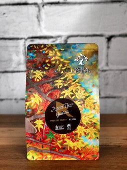 Sacred Grounds PNG Organic Fairtrade Coffee BEAN 250g