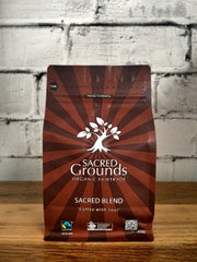 Sacred Grounds Sacred Blend Organic Fairtrade Coffee GROUND 250g