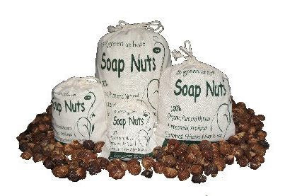 Soap Nuts 1KG w Wash Bag