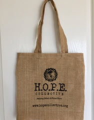 HOPE Collective jute bag