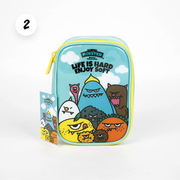 Blue Monster Accessory Pouch - Sweet Monster Singapore