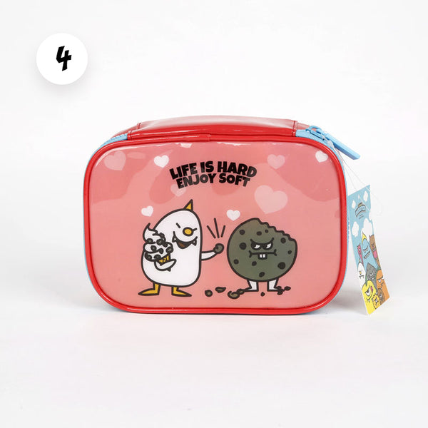 Pink Monster Accessory Pouch