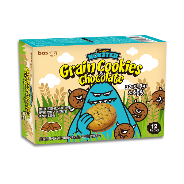 Monster Grain Cookies - Sweet Monster Singapore