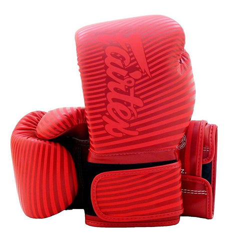 Fairtex Boxing Gloves - Minimalism Red