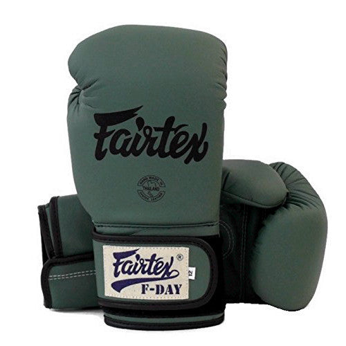 Fairtex Boxing Gloves F-Day Limited Green