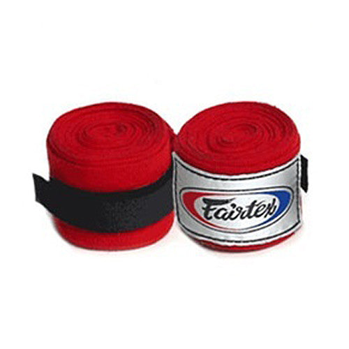 Fairtex Hand Wraps Red