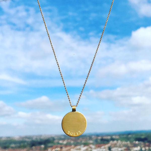 SOLIS NECKLACE - SILVER / GOLD