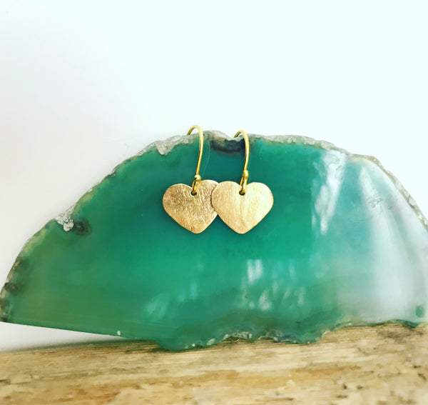 LOVE YOU EARRINGS - 14K GOLD FILL