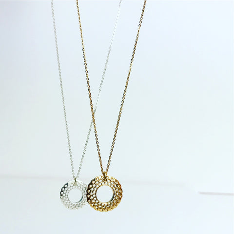 LUX LATTICE NECKLACE