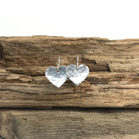 LOVE YOU EARRINGS SILVER