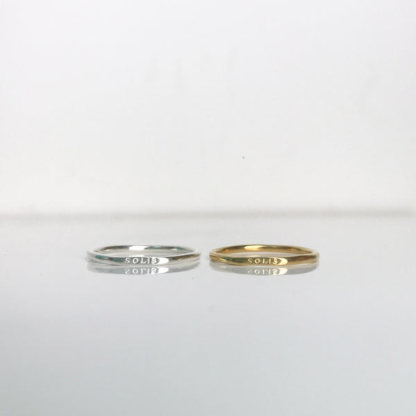SOLIS RING - SILVER or GOLD