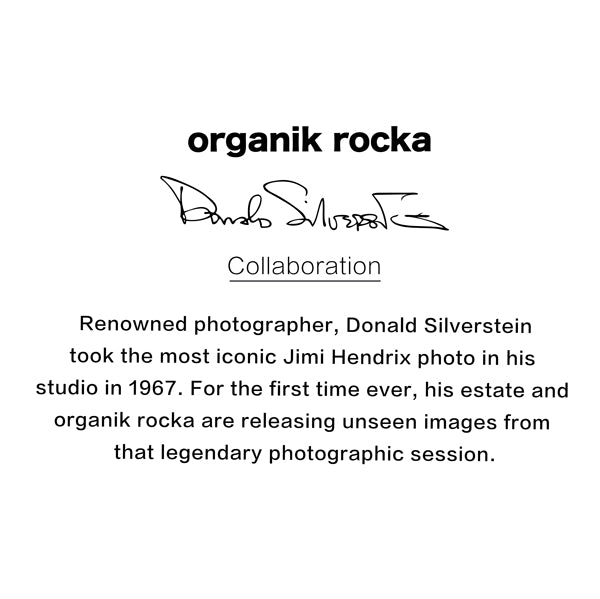 Organik Rocka Jimi Hendrix #1 T-shirt Description
