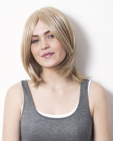 Mid-length, straight, layered wig: Who's Lovin' You
