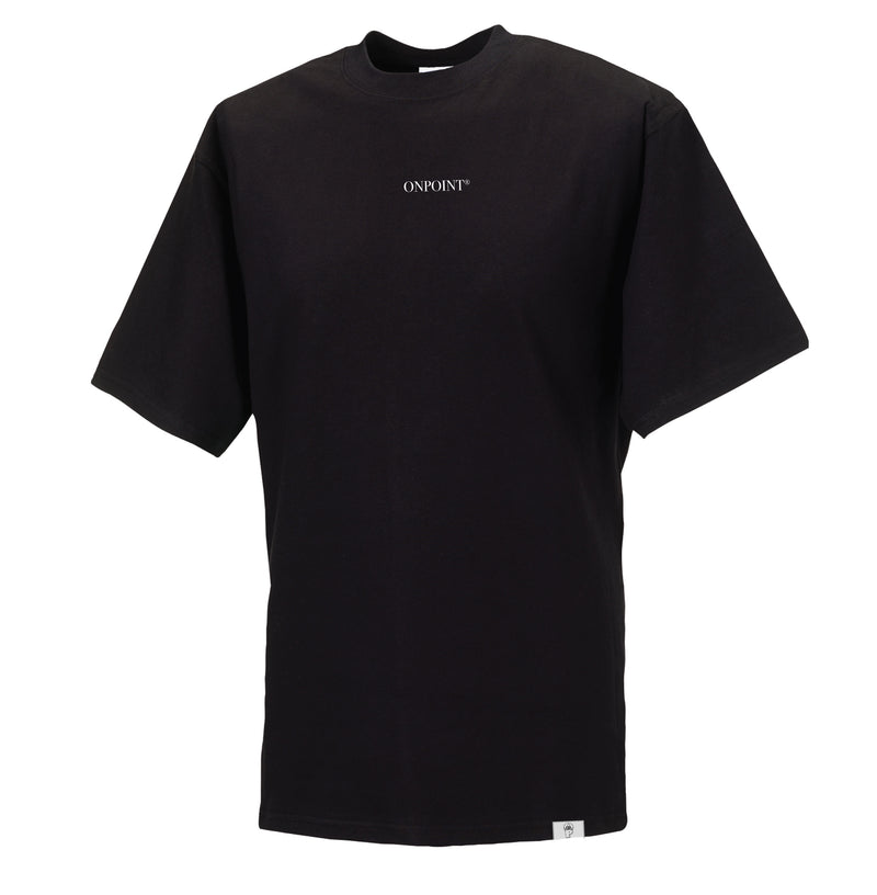 ONPOINT® SIMPLICITY - Oversize T-Shirt in Black