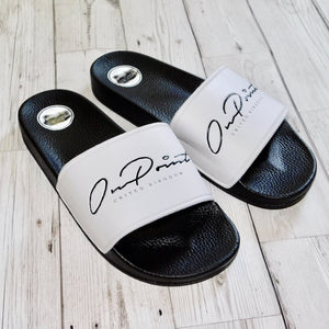 ONPOINT® Signature Slides - White