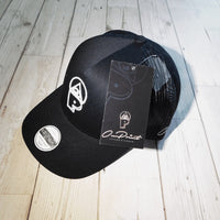 3D ONPOINT® Mesh Trucker Hat - Black & White