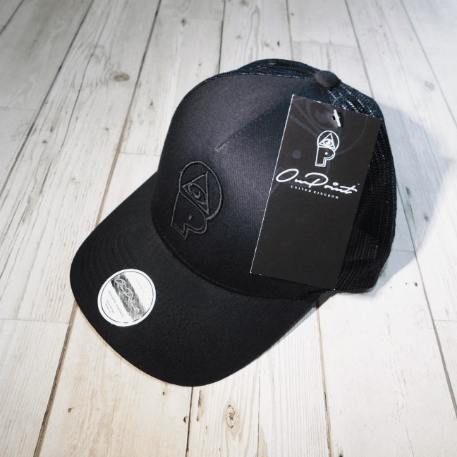 3D ONPOINT® Mesh Trucker Hat - Triple Black