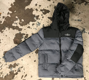 ONPOINT® - 'colourBLOCK' Puffa Jacket