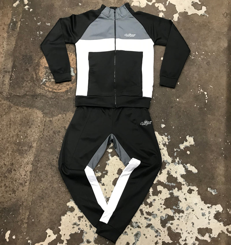 ONPOINT® - 'colourBLOCK' Fitted Tracksuit