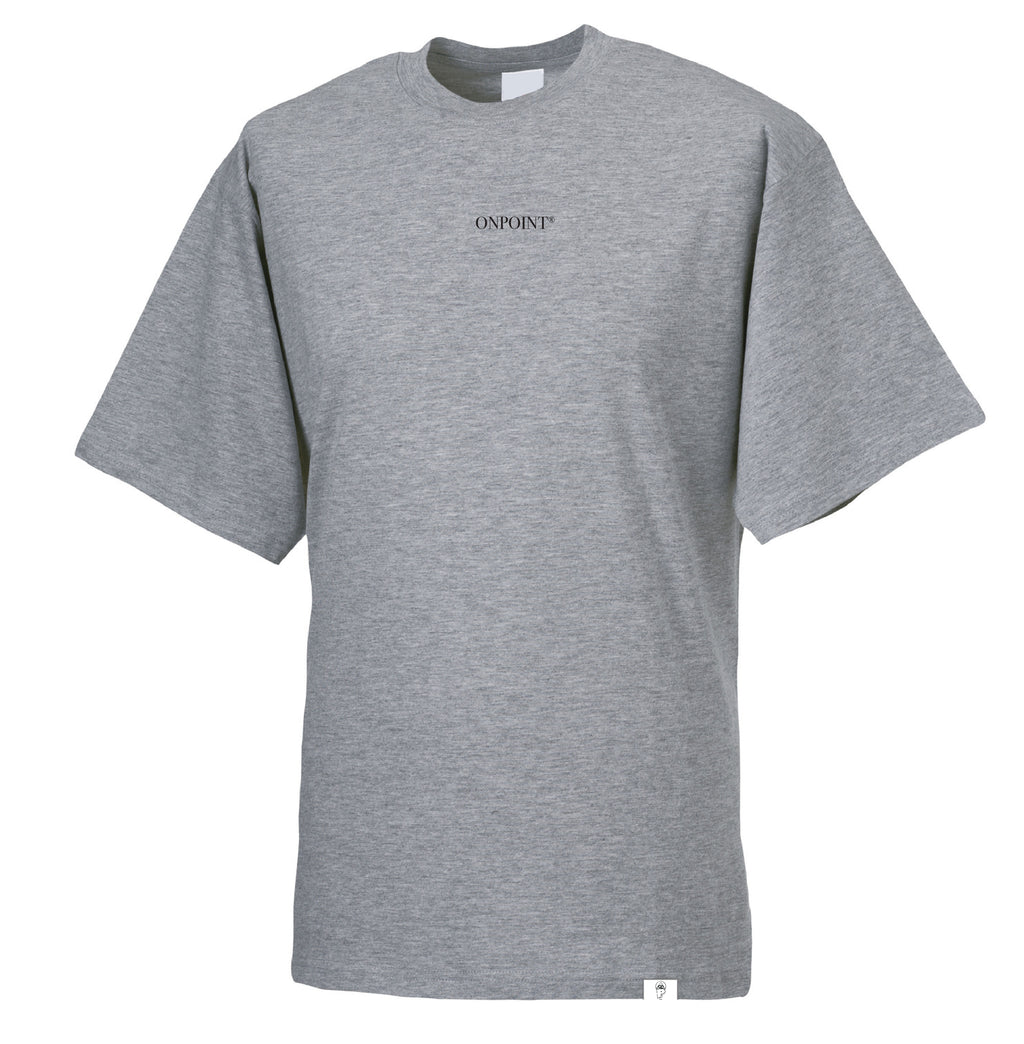 ONPOINT® SIMPLICITY - Oversize T-Shirt in Grey