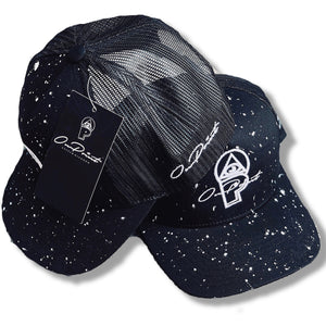 ONPOINT® Paint Splatter - Mesh Trucker Cap - Black & White [INTRODUCTORY OFFER]