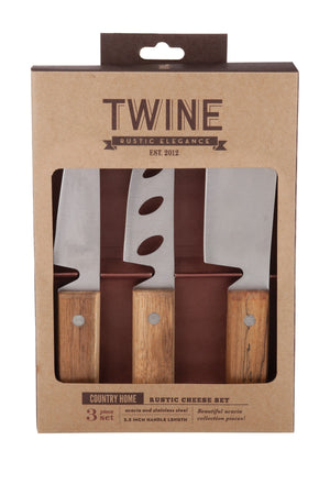 TWINE RUSTIC CHEESE SET