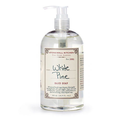 Stonewall Kitchen White Pine Hand Soap