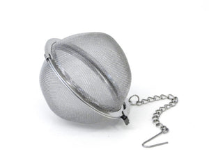 "Tea Infuser - 2.5"" ball-on-chain"
