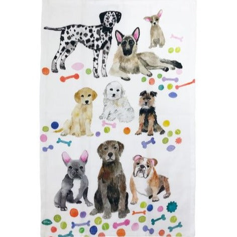 BETSY OLMSTED TEA TOWEL DOG