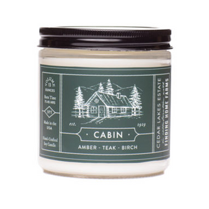 Cabin Soy Candle 13 oz Large Jar