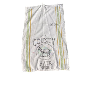 Country Fair Tea Towel (Goat)
