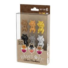 Paws Off CAT Glass Markers