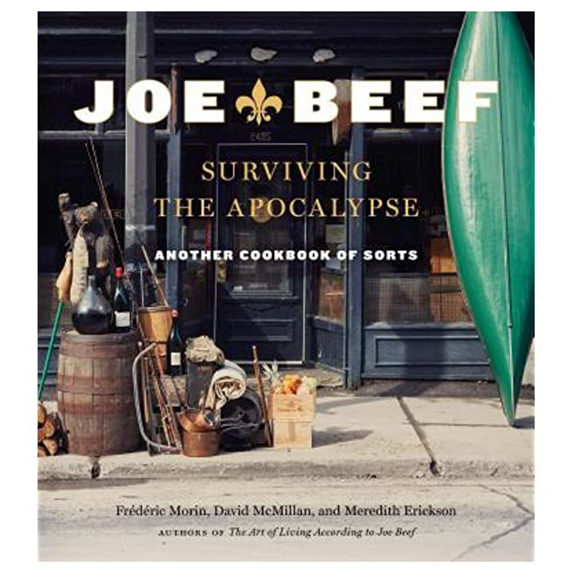 Joe Beef Cookbook
