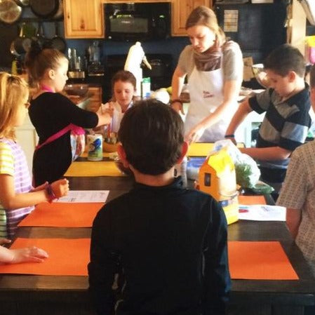 SOLD OUT - KIDS COOK! SUMMER CAMP (Mornings: July 26-30)