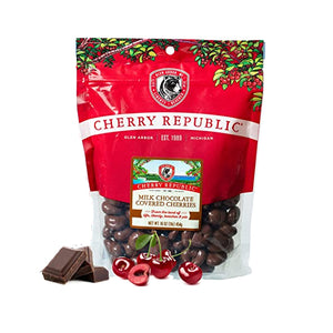 MILK CHOCOLATE COVERED DRIED CHERRIES