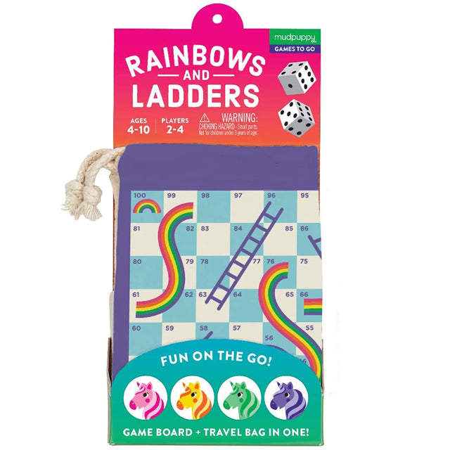 TRAVEL RAINBOWS & LADDERS