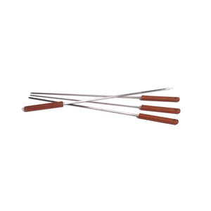 ROSEWOOD HANDLE SKEWER SET