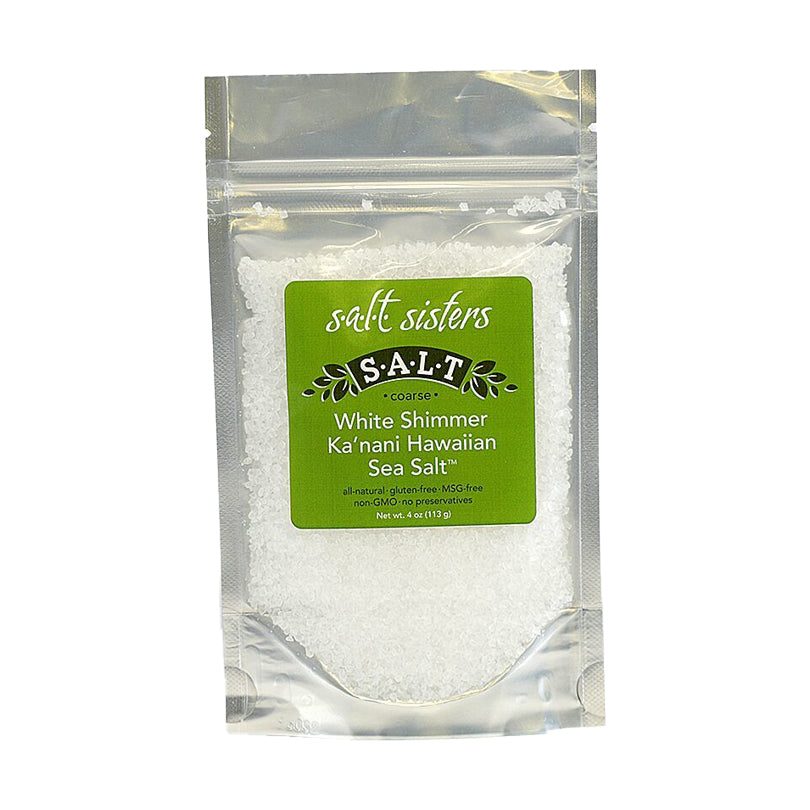 WHITE SHIMMER SEA SALT