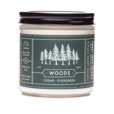 Woods Soy Candle 13 0z Large Jar