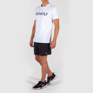 Base Logo Tee - White - Prowolf