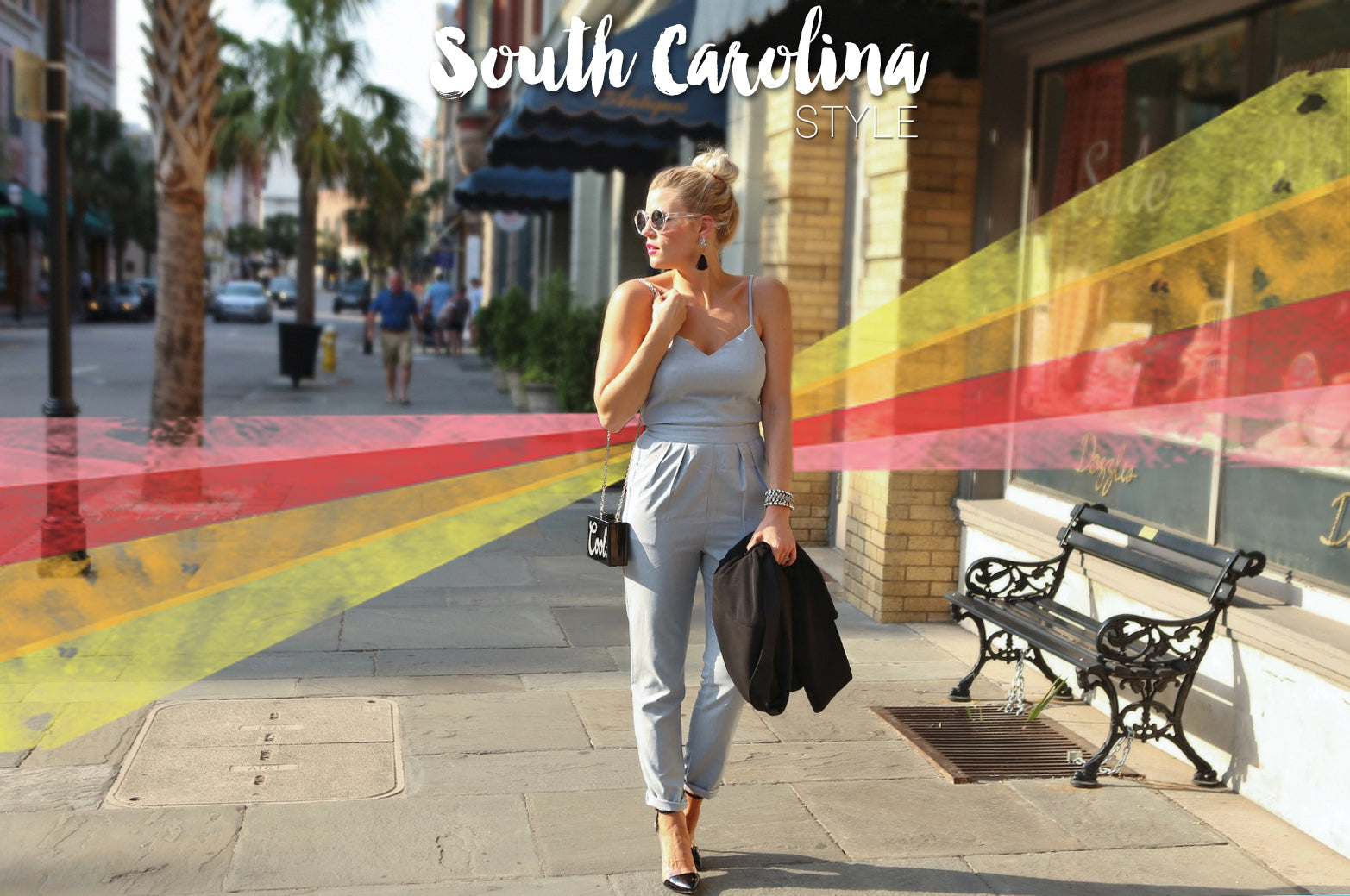 South Carolina Style from The Shopping Bag's Styles to Take You Miles Collection