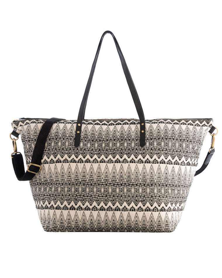 Maxine Diamond Pattern Weekend Tote