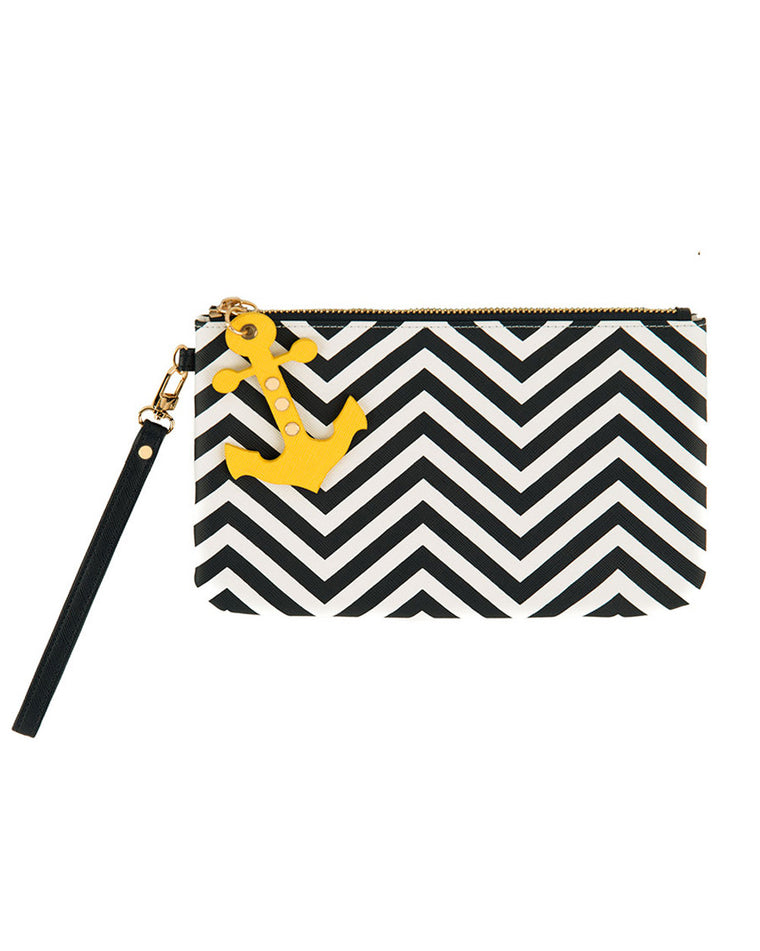 Sorrento Anchor Zip Wristlet Wallet
