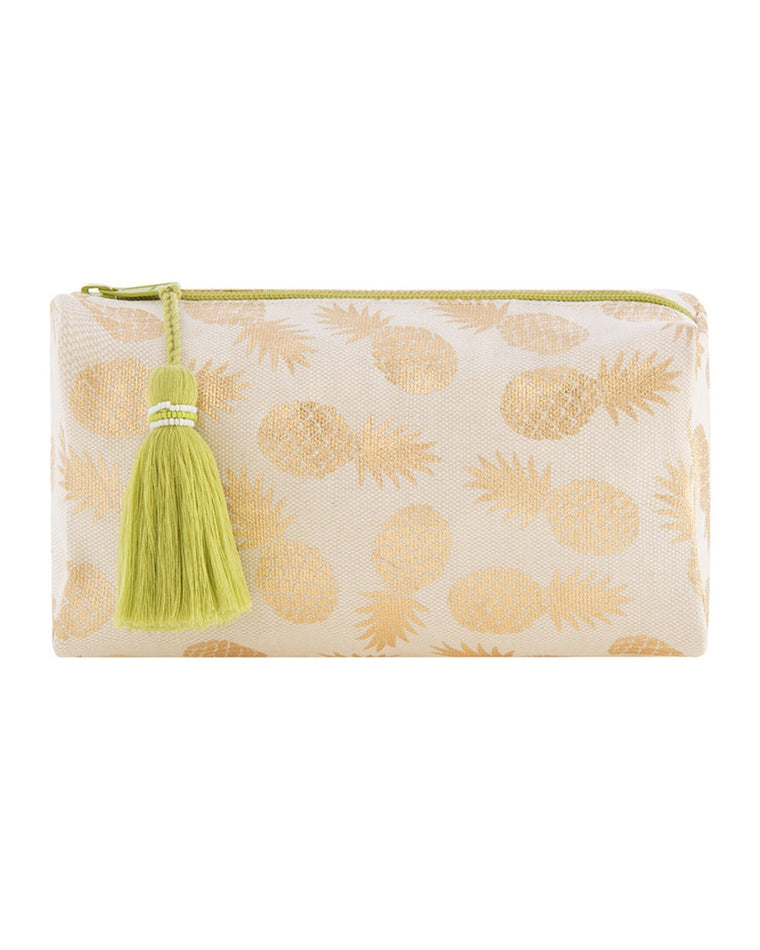 Gold Pineapple Pouch
