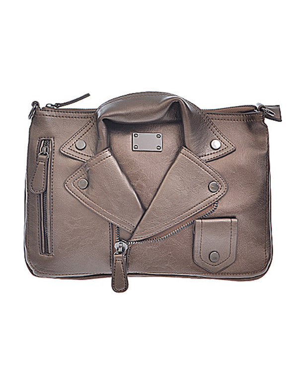 Leather Jacket Bag from The Shopping Bag