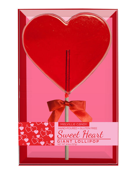 Giant Heart Lollipop
