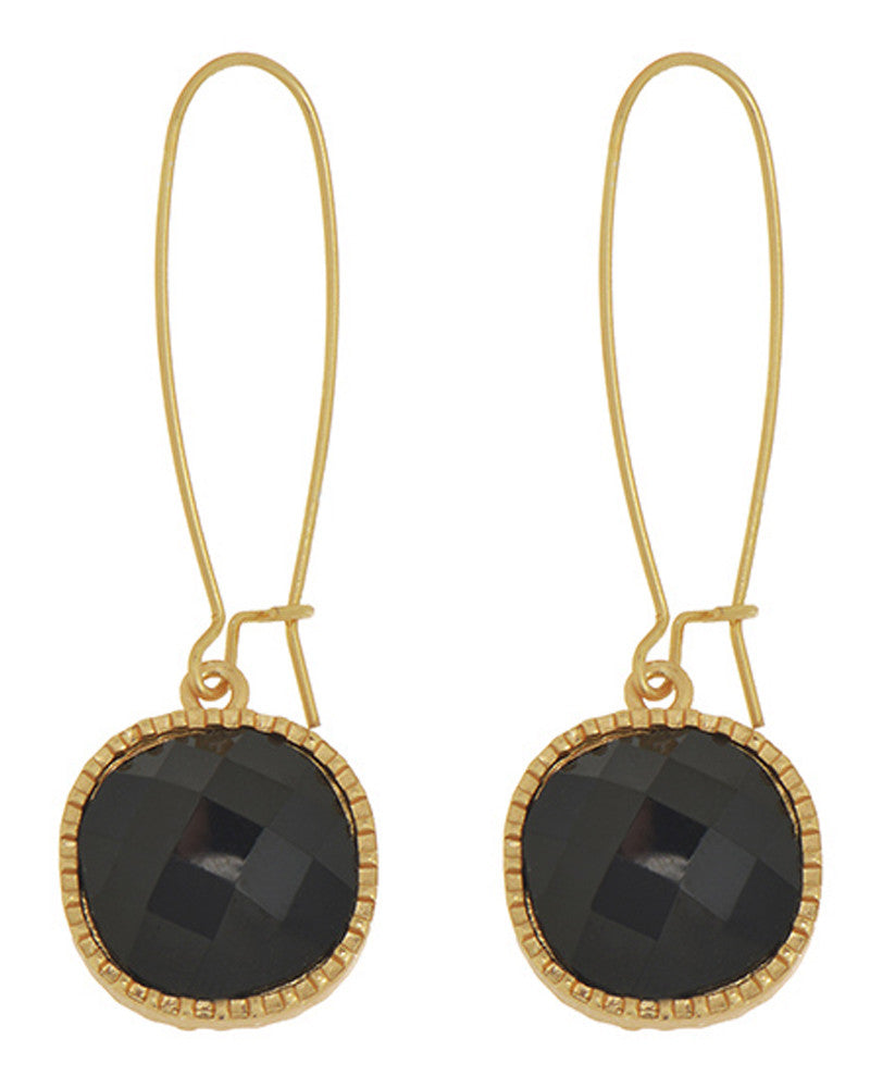 Cecelia Stone Drop Earrings